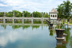 Water temple in Bali Royalty Free Stock Photography