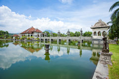 Water temple in Bali. Architectural wonders at the Karangasem water temple in Bali, Indonesia Royalty Free Stock Images