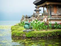 Water temple at Bratan lake Royalty Free Stock Photography