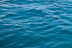 Water texture. Sun shine. Indian ocean Royalty Free Stock Images