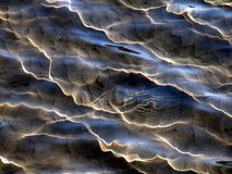 Water texture. Light reflexes in water stock photos