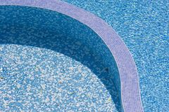 Water texture-swimming pool. Water texture - swimming pool in hotel royalty free stock photos