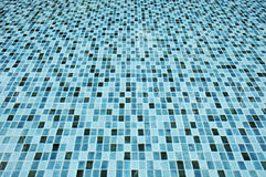 Water and tile texture in swimming pool Royalty Free Stock Photo