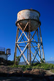 Water Tower. Rusty old water tower Royalty Free Stock Photos
