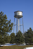 Water tower. A photo of an old water tower Stock Photography