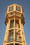 Water tower. After restored near Balaton Stock Photo