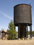 Rusty Water Tower Rural Countryside Construction Stock Photography