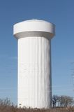 Water Tower. Large water tower Royalty Free Stock Photos