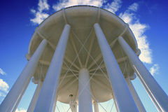 Water Tower. A city's high rise, gravity fed, drinking water storage tower Stock Image