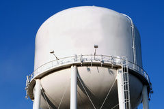 Water Tower. Water tank tower supply to a town royalty free stock image
