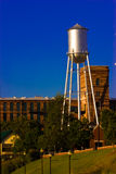 Water Tower. A view of a water tank tower with modern architectural design in Columbus, GA, USA Stock Image
