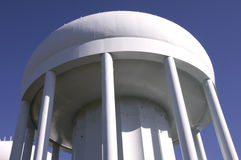 Water Tower Above Stock Photo