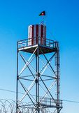 Water tower in Afghanistan Royalty Free Stock Image