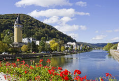 Water tower in bad ems Royalty Free Stock Photography