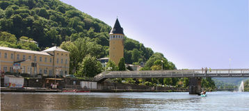 Water tower in Bad Ems Germany Royalty Free Stock Photo
