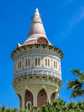 Water tower in Barcelona, Spain Royalty Free Stock Photo