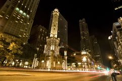 Water Tower Chicago Royalty Free Stock Photography