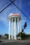 Water tower in Cocoa Royalty Free Stock Photos