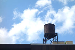 New York City Water Tower Royalty Free Stock Photography