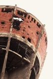 Water tower. In Croatia royalty free stock photography