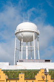 Water tower in downtown Royalty Free Stock Images