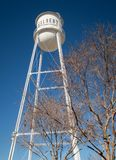 Water tower, Gilbert, Arizona. Iconic old water tower in the city of Gilbert, Arizona Stock Images