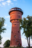 The Water Tower in Gizycko Royalty Free Stock Images