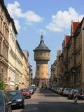 Water Tower at Halle, Germany Stock Images