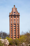 Water Tower Hamburg Stellingen Stock Photo