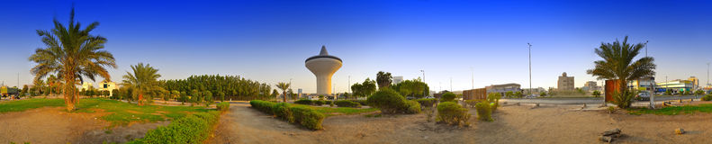 Water Tower in Jeddah Stock Photography