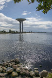Water tower of Lanskrona 1 Stock Photos