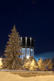Water tower of Lappeenranta Stock Images