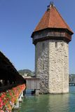 Water tower in Lucerne Stock Photos