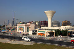 Water tower in Manama, Bahrain Stock Photography