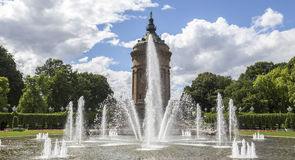 Water tower in mannheim germany Royalty Free Stock Photos