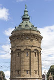 Water tower in mannheim germany Stock Photography