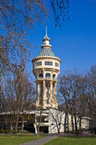 Water tower on Margaret Island in Budapest, Hungary Royalty Free Stock Photography