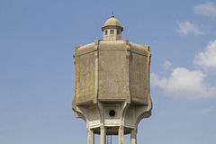Water tower in Palmanova. A star-shaped planetary city which was built at the end of the 16th century Stock Images