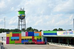 The Water Tower Pavillon in Memphis, Tennessee. Stock Photography