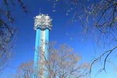 Water tower in Prague Stock Image