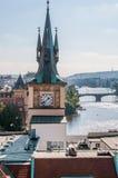 Water Tower, Prague Stock Photo