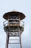 Water tower with roof and balcony Stock Photography