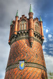 Water tower of Rostock, Germany Stock Images