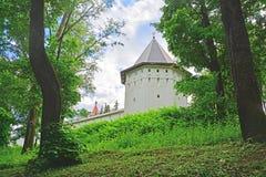 Water tower of Savvino-Storozhevsky man's monastery in Zvenigorod, Russia Royalty Free Stock Images
