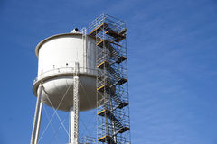 Water Tower Scaffolding Stock Photography