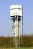 Water Tower Sembac. Modern water-tower at Sembach, (Kaiserslautern) Germany stock photography