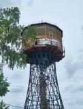 Water tower of Shukhov. Borisov, Belarus. Historical and cultural value. Water tower of Shukhov. Borisov, Belarus royalty free stock images