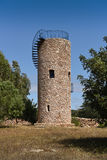 Water tower, stacked stone Stock Images