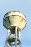 Water Tower. Stored water supply in tank of the community in Thailand Stock Photos