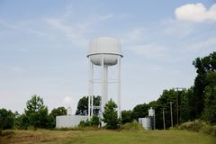 Water tower structure Stock Images